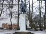 Monument to V. I. Lenin at the Trade Side