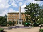 Monument in the Place of the Presentation of the Holy Virgin Cathedral of the Semenovsky Life Guard Regiment